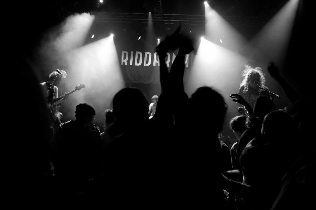 Riddarna live - Foto Andreas Forsner